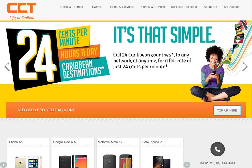 CCT Website Re-Design