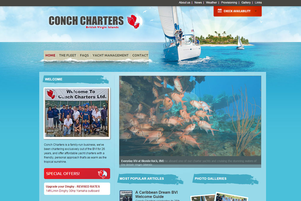 Conch Charters