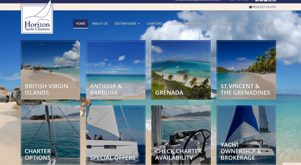 Caribbean Charter Website