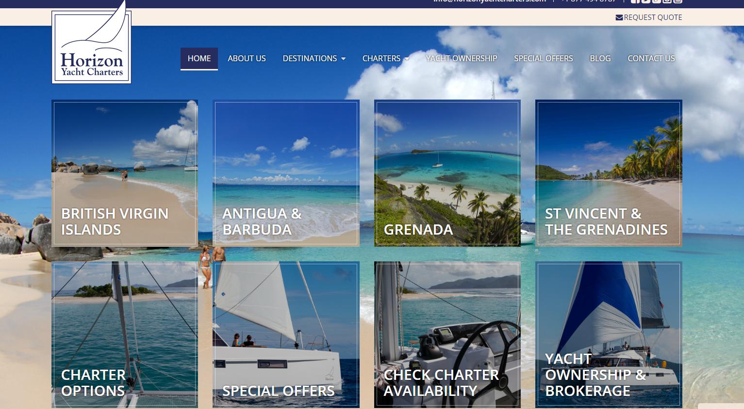 Caribbean Charter Website