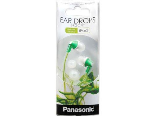 Green apple earbuds - panasonic earbuds green