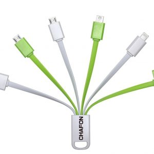 Chafon Premium 6 in 1 Multiple USB Charge Cable Adapter