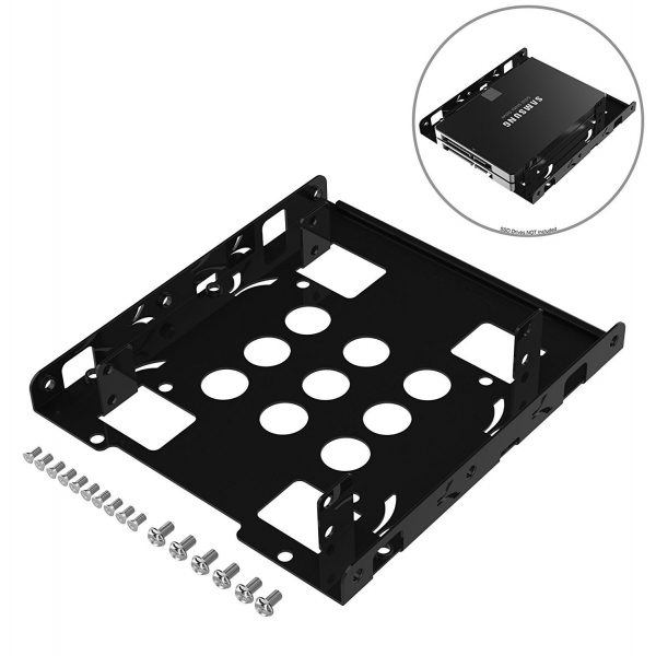 Sabrent 2.5inch to 3.5inch Internal Hard Disk Drive Mounting Kit