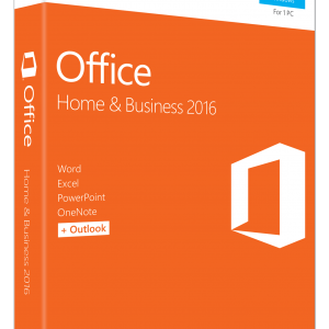 Microsoft Office Home and Business 2016 | PC Key Card