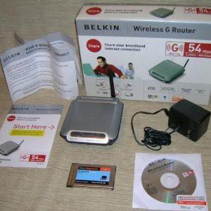 Belkin Wireless G Ethernet Gaming Adapter