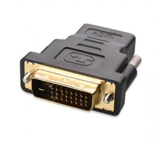 Gold-Plated DVI-D Dual Link to HDMI (Male to Female) Adapter