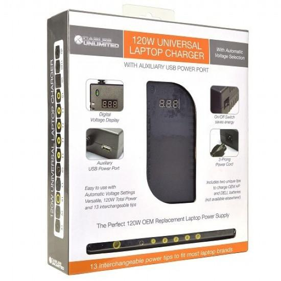 120W Universal Laptop Charger