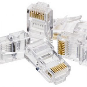 CAT5E Connector (RJ45, 8P8C) - 25 Pack