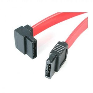 "18"" SATA Cable - Right Angled Connector"
