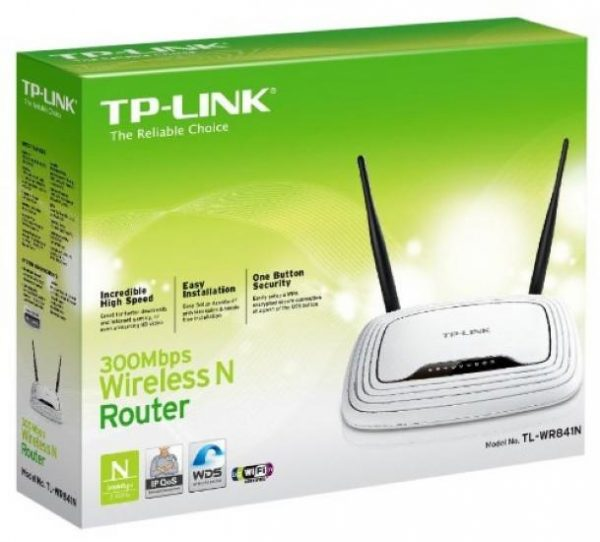 TP-Link WL 300Mbps Wireless N Router TL-WR841N