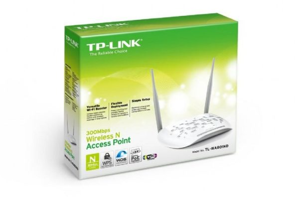 TP-Link Wireless N300 Access Point TL-WA801ND