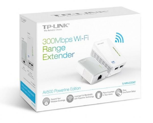 TP-LINK 300Mbps Wi-Fi Range Extender Starter Kit